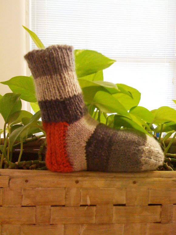 A Single Sock So Far